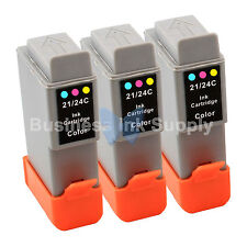 3 COLOR BCI-24 NEW Ink for Canon PIXMA MP130 iP1500 iP2000 MultiPASS MP360 F20