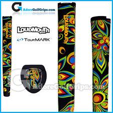 TourMARK Loudmouth Shagadelic Jumbo Pistol Putter Grip - Black + Free Tape