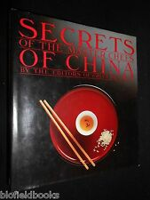 Secrets of the Master Chefs of China - 1983-1st (UK) Chinese Cookery, Cooking HB