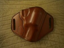 """Ruger SP 101 2"""" Revolver Custom Leather Gun Holster Right Hand Tan Made In U.S.A"""