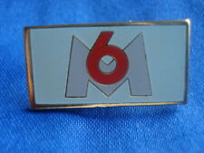 PINS TV FRANCE TELEVISION CHAINE M6