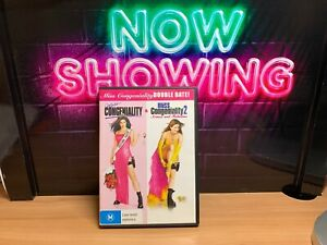 Miss Congeniality + Miss Congeniality 2  Armed And Fabulous Double DVD FREE POST