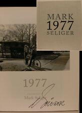Mark Seliger signiert Fotograf Katalog 1977 orig. autograph Signatur Autogramm
