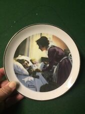 "Norman Rockwell Mother's Love 6 1/2"" Decorative Collector Plate"