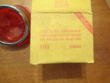 NOS Glo-Brite Stop + Tail Lamp Lens Chevrolet Belair (exc. sta. wag.)1965  1105