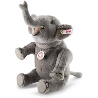 Steiff Nelly Elephant EAN 021688 11 inches Grey Alpaca NEW Gorgeous!