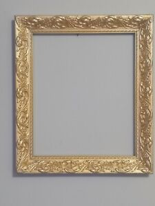 Ornate Vintage style gold photo/  picture frame.   12 X 10