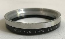 Tiffen 60mm X .5 Adapter Ring Series 8 with Retaining Ring