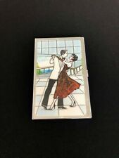 Personalized Expression Mini Business Card Holders Dancers