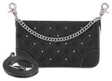 Harley-Davidson Women's B&S Studded Chain Leather Hip Bag w/ Strap HDWBA11313