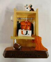 Miami University Hurricanes Ceramic Locker Figurine by Talegaters