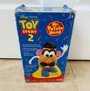 Vintage Hasbro Mr Potato Head 1999 With Box (incomplete)