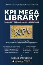 KPI Mega Library: 36,000 Key Performance Indicators by Baroudi PhD, Rachad Book