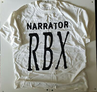RBX 'THE RBX FILES' PROMO T SHIRT XL WHITE VINTAGE 1995 HIP HOP TEE PREMEDITATED