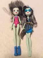Monster High Lot of 2 Frankie Stein Dolls