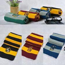 Harry Potter Hogwarts Scarf Gryffindor Slytherin Ravenclaw Hufflepuff Cosplay