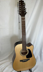 Takamine GD30CE-12NAT 12-String Acoustic-Electric Guitar *READ*