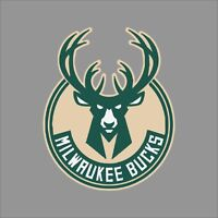 Milwaukee Bucks #2 NBA Team Logo Vinyl Decal Sticker Car Window Wall Cornhole