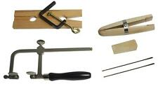 JEWELRY MAKING TOOL KIT BENCH PIN RING CLAMP SAW FRAME BLADES BENCH TOOLS