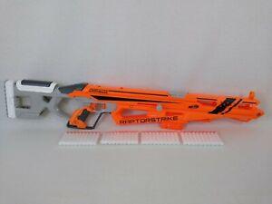 Nerf N-Strike Elite Accustrike Series RaptorStrike Rifle Gun Blaster 40 Bullets