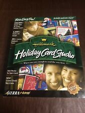 *Hallmark*  Holiday Card Studio - PC - Brand New Factory Sealed