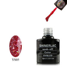 BLZ12 GLITTER DIAMOND by Shinerlac UV/LED Soak Off Gel Nail Polish 10 ml