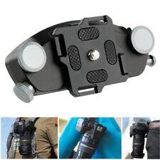 Metal Quick Release Camera Waist Belt Strap Aluminum Buckle Button Mount Clip