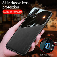 For Samsung Galaxy A71 A51 5G A41 A31 Luxury PU Leather Case Car Magnetic Cover