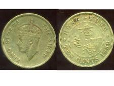 HONG KONG 10  ten cents 1950   ( bis )