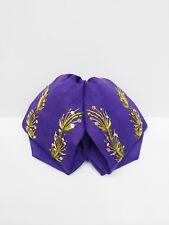 Mariachi Bow Tie Moño Para Mariachi - Purple/Gold