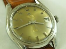 Gents Vintage Swiss CERTINA DS 25-651 27Jewels Automatic Turtle Back Wrist Watch