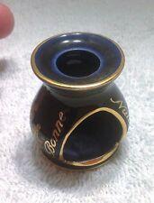 Limoges Miniature Porcelaine Cobalt Blue and Gold Tea Warmer-Bonne Nuit-France