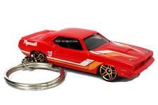 Custom Key chain '70 Plymouth AAR Cuda