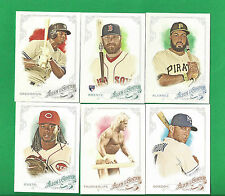 2015 Allen & Ginter Complete Baseball Set 1-350  KRIS BRYANT + ADDISON RUSSELL