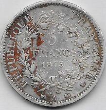 5 Francs argent Hercule 1875 A