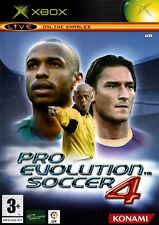 Pro Evolution Soccer 4 (Xbox) - Free Postage - UK Seller