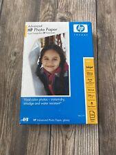 "HP Advanced Photo Paper 4""X 6"" Glossy Inkjet 10.5mil 100 Sheets ×3 lot 300 total"