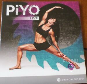 PiYO Live Round 35 DVD Workout Fitness Exercise Pilates Yoga CD Core Strength