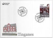 FAROE ISLANDS F.D.C.11/2/2008 SG 562; TIGANES (ANCIENT PARLIAMENT).
