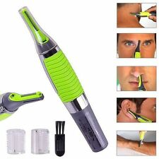 High Definition Beard Moustache Mens Electric Facial Hair Nose Ear Trimmer T1 UK