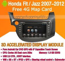 Android Multimedia Player for Honda Jazz Honda Fit 2007-2012 DVD GPS Navigaiton