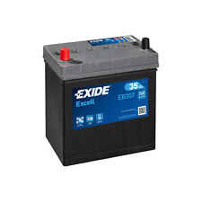 1x Exide Excell 35Ah 240CCA 12v Type 055 Car Battery 3 Year Warranty - EB357