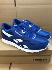 Reebok Croyal Blue White Nylon EG2733 Casual Mens Shoes Sneakers Size 8.5