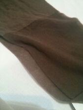 COLLANT SARAH BORGHI marrone setificato VELVET pantyhose 20 d strumpfhosen lycra