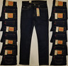 Levis 511 Mens Slim Fit Stretch Dark Blue Jeans Size 32-33-34-36 #045111042 Levi