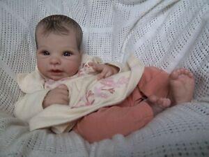 Reborn Baby Girl ~ Painted Hair!!