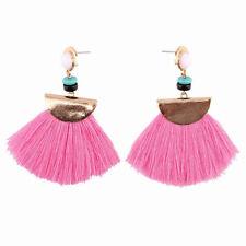 Vintage Women Boho Bohemian Earrings Long Tassel Fringe Dangle Earrings Jewelry