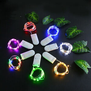 1M LED String Lights For Wedding Party Garden Outdoor Waterproof Fairy Lights
