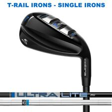 New Cobra T-RAIL Individual Irons  -  Pick a Shaft Loft Flex & Lie