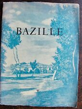 BAZILLE : Catalogue exposition . Wildenstein 140 faubourg Saint honoré, 1950. 1